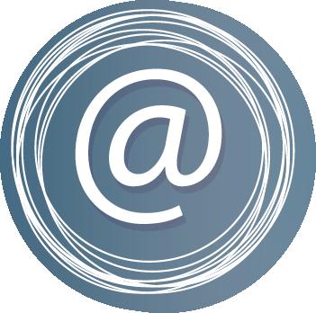 logo rosa correo electrónico